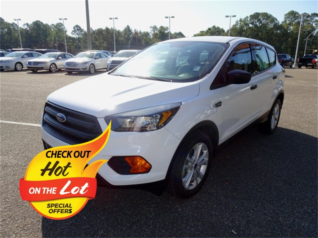 2018 Ford Escape S 2.5L i-VCT Engine FWD Automatic SUV