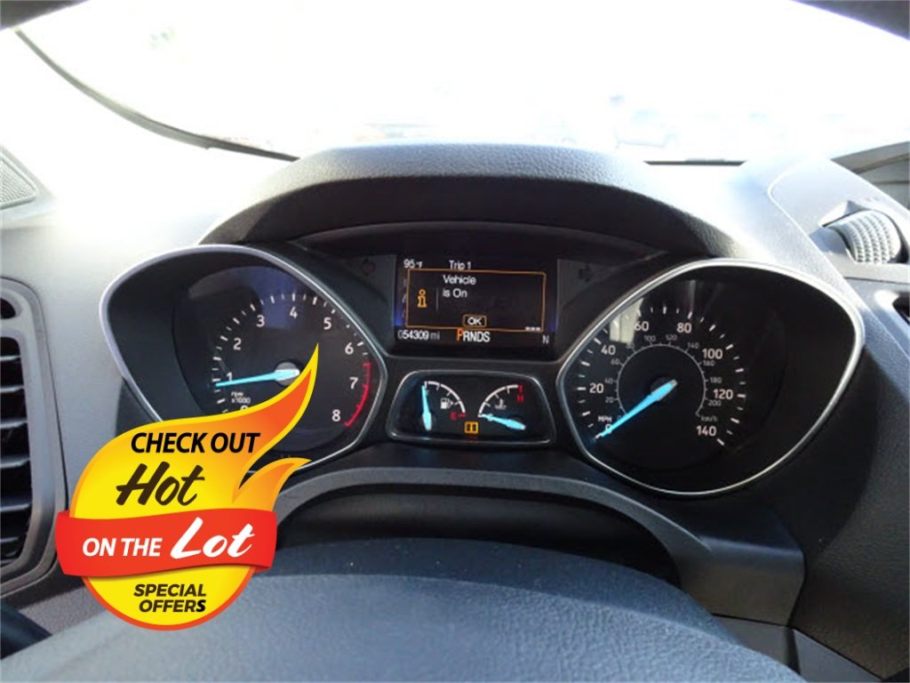 2018 Ford Escape S 2.5L i-VCT Engine 4 Door FWD SUV