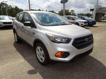 2019 Ingot Silver Ford Escape S 2.5L iVCT Engine FWD Automatic 4 Door