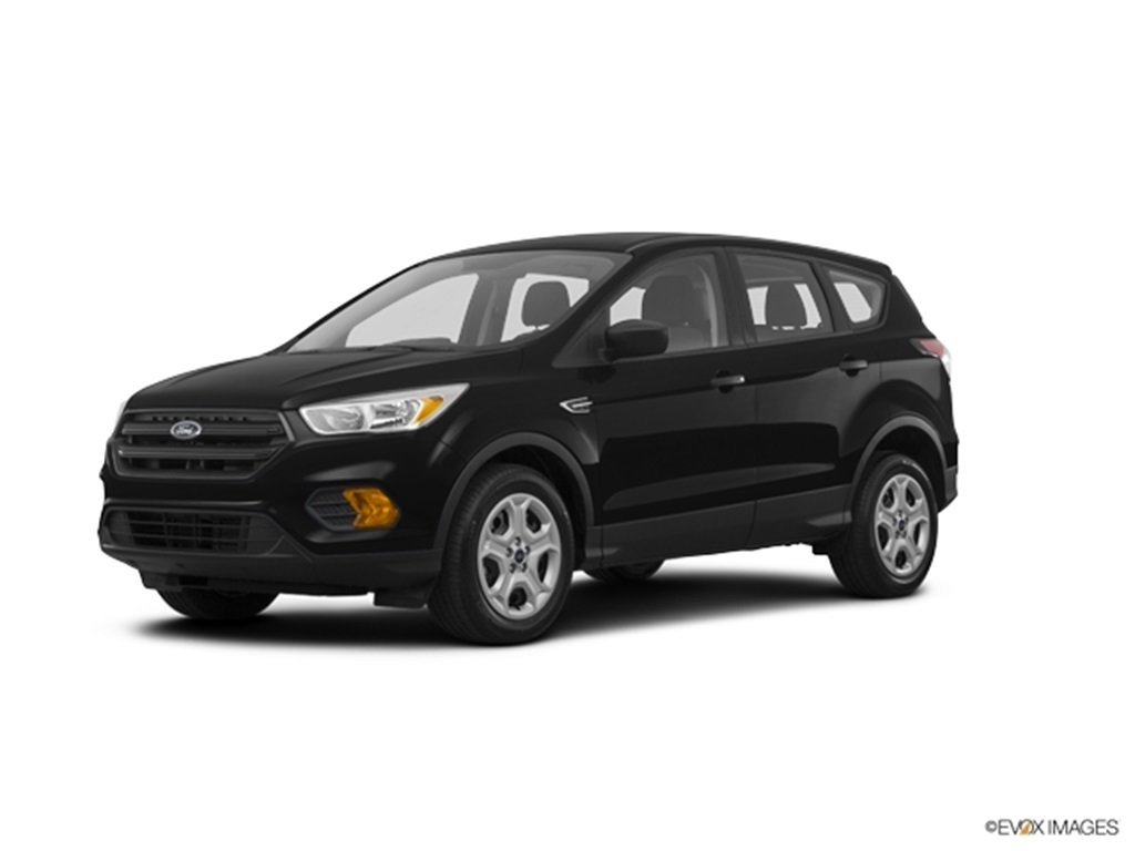 2019 Black Metallic Ford Escape S 2.5L iVCT Engine Automatic FWD 4 Door