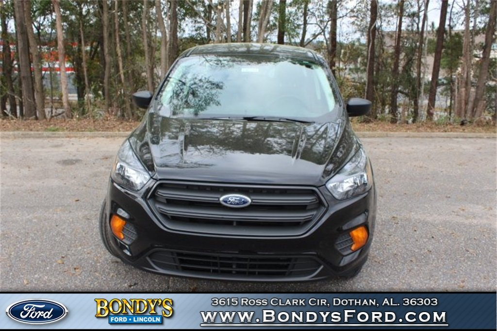 2019 Black Metallic Ford Escape S 4 Door FWD 2.5L iVCT Engine