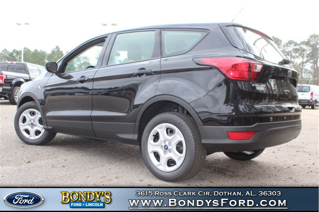 2019 Ford Escape S SUV FWD Automatic 2.5L iVCT Engine 4 Door