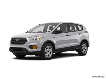 2019 Ingot Silver Ford Escape S 4 Door 2.5L iVCT Engine Automatic