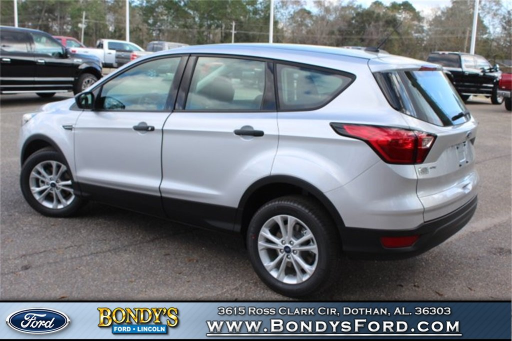 2019 Ingot Silver Ford Escape S SUV 4 Door FWD
