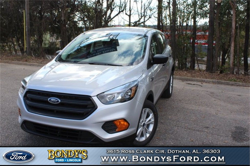 2019 Ingot Silver Metallic Ford Escape S 4 Door 2.5L iVCT Engine SUV