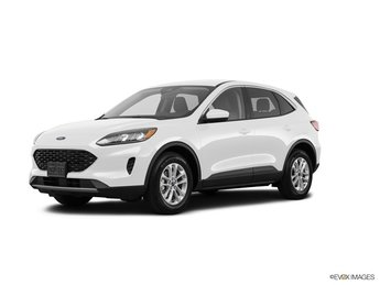 2020 Oxford White Ford Escape SE FWD Automatic 4 Door EcoBoost 1.5L I4 GTDi DOHC Turbocharged VCT Engine
