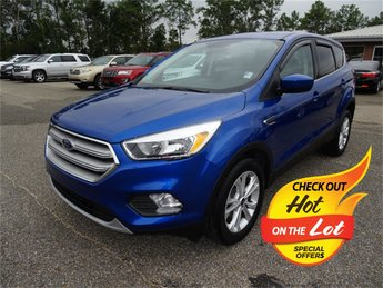 2019 Lightning Blue Metallic Ford Escape SE EcoBoost 1.5L I4 GTDi DOHC Turbocharged VCT Engine FWD Automatic