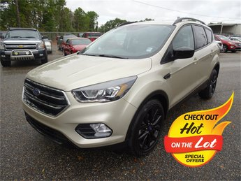 2017 Ford Escape SE EcoBoost 1.5L I4 GTDi DOHC Turbocharged VCT Engine Automatic SUV