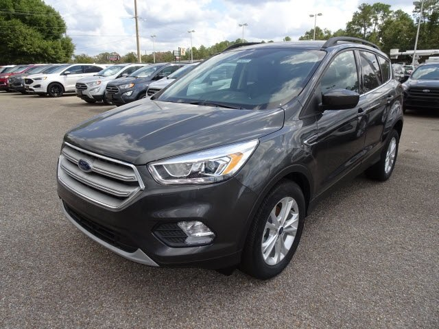 2019 Magnetic Ford Escape SEL SUV EcoBoost 1.5L I4 GTDi DOHC Turbocharged VCT Engine FWD 4 Door