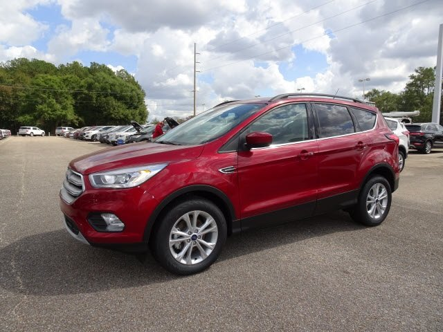 2019 Ford Escape SEL Automatic 4 Door EcoBoost 1.5L I4 GTDi DOHC Turbocharged VCT Engine SUV FWD