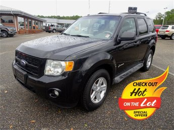 2009 Black Clearcoat Ford Escape Hybrid FWD SUV 4 Door 2.5L I4 Atkinson-Cycle Electric Motor 4V Engine