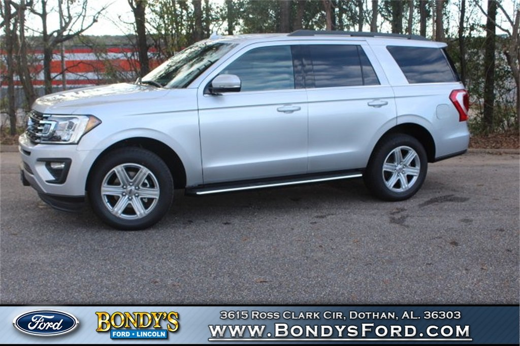 2019 Ingot Silver Metallic Ford Expedition XLT EcoBoost 3.5L V6 GTDi DOHC 24V Twin Turbocharged Engine Automatic RWD