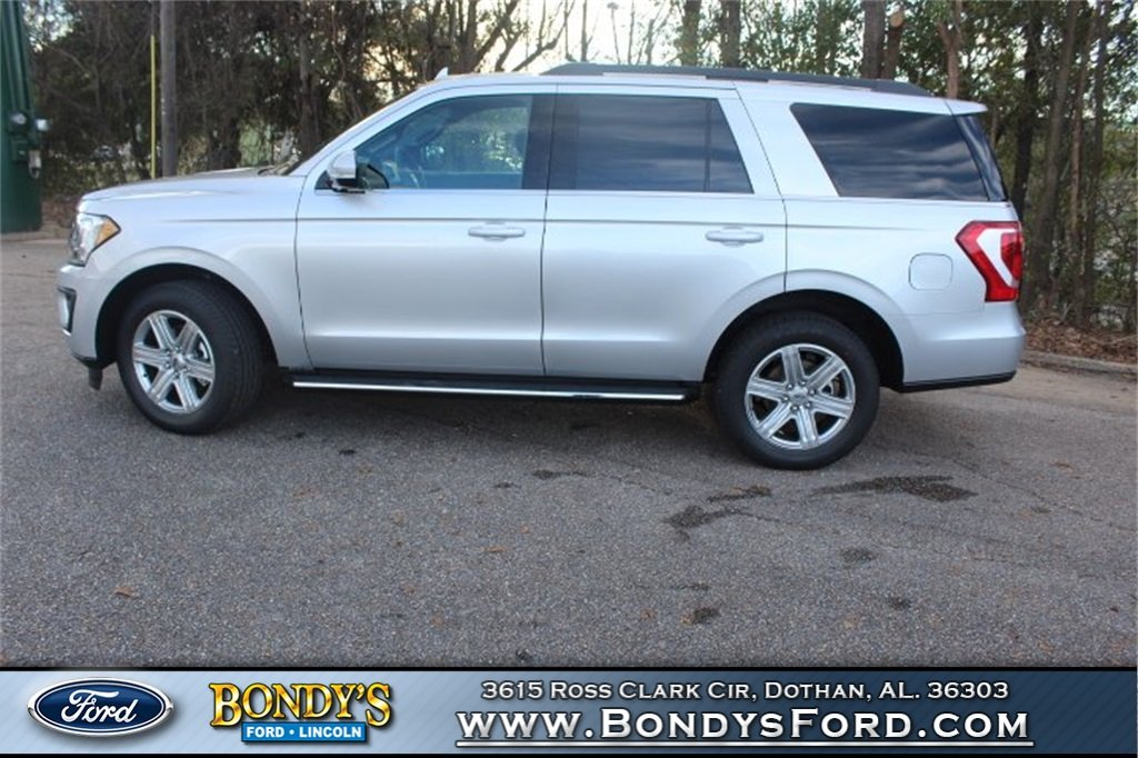 2019 Ingot Silver Metallic Ford Expedition XLT RWD EcoBoost 3.5L V6 GTDi DOHC 24V Twin Turbocharged Engine Automatic