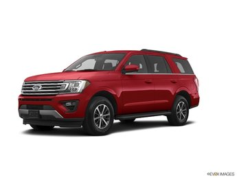 2019 Ruby Red Metallic Ford Expedition XLT 4 Door Automatic EcoBoost 3.5L V6 GTDi DOHC 24V Twin Turbocharged Engine RWD