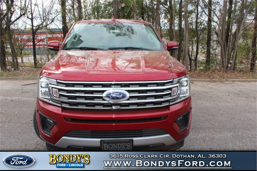 2019 Ruby Red Metallic Ford Expedition XLT RWD 4 Door EcoBoost 3.5L V6 GTDi DOHC 24V Twin Turbocharged Engine Automatic