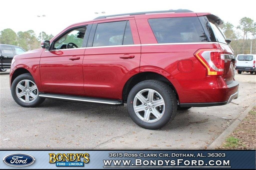 2019 Ruby Red Metallic Ford Expedition XLT EcoBoost 3.5L V6 GTDi DOHC 24V Twin Turbocharged Engine Automatic 4 Door