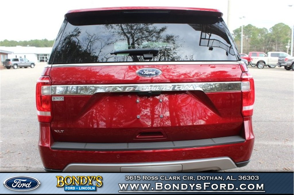 2019 Ruby Red Metallic Ford Expedition XLT 4 Door RWD SUV
