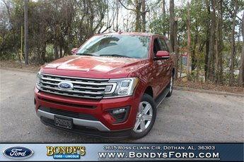 2019 Ruby Red Metallic Tinted Clearcoat Ford Expedition XLT EcoBoost 3.5L V6 GTDi DOHC 24V Twin Turbocharged Engine Automatic 4 Door RWD
