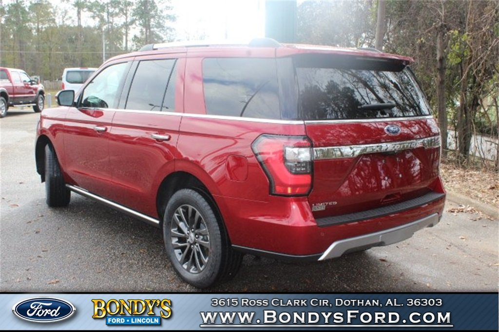 2019 Ruby Red Metallic Tinted Clearcoat Ford Expedition Limited RWD 4 Door SUV