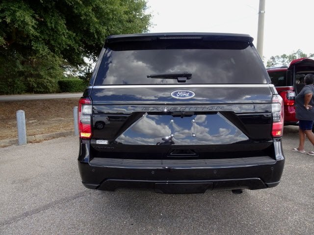 2019 Black Metallic Ford Expedition Limited SUV EcoBoost 3.5L V6 GTDi DOHC 24V Twin Turbocharged Engine Automatic 4 Door RWD