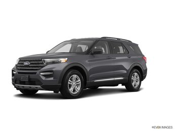 2020 Ford Explorer XLT EcoBoost 2.3L I4 GTDi DOHC Turbocharged VCT Engine SUV Automatic 4 Door RWD