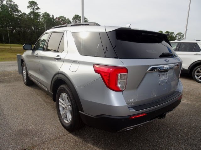 2020 Ford Explorer XLT 4 Door EcoBoost 2.3L I4 GTDi DOHC Turbocharged VCT Engine Automatic RWD SUV