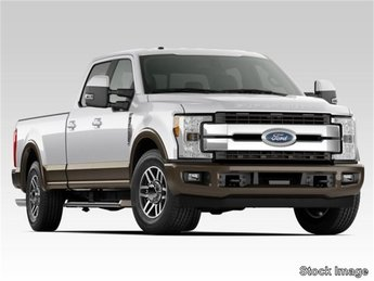 2019 Ford Super Duty F-250 SRW King Ranch 4 Door Power Stroke 6.7L V8 DI 32V OHV Turbodiesel Engine Truck