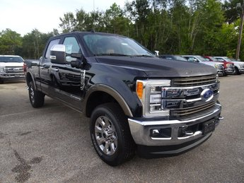 2019 Black Metallic Ford Super Duty F-250 SRW King Ranch Power Stroke 6.7L V8 DI 32V OHV Turbodiesel Engine Automatic 4 Door Truck