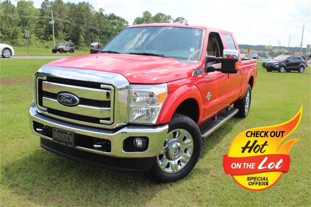 2016 Ford Super Duty F-250 SRW Lariat Truck 4 Door Automatic Power Stroke 6.7L V8 DI 32V OHV Turbodiesel Engine