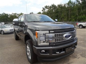 2019 Ford Super Duty F-250 SRW Platinum Automatic Truck 4X4 Power Stroke 6.7L V8 DI 32V OHV Turbodiesel Engine 4 Door
