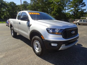 2019 Ingot Silver Ford Ranger XL Truck Automatic EcoBoost 2.3L I4 GTDi DOHC Turbocharged VCT Engine 4 Door RWD