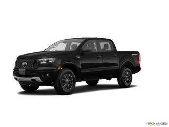 2019 Shadow Black Ford Ranger XLT 4 Door EcoBoost 2.3L I4 GTDi DOHC Turbocharged VCT Engine Truck Automatic
