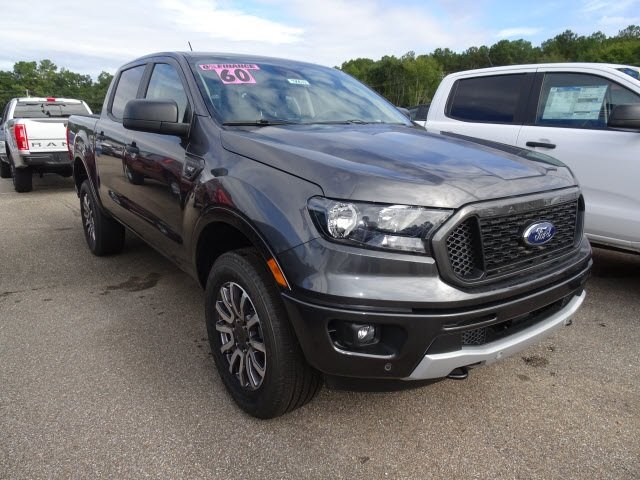 2019 Magnetic Ford Ranger XLT RWD EcoBoost 2.3L I4 GTDi DOHC Turbocharged VCT Engine Truck 4 Door Automatic