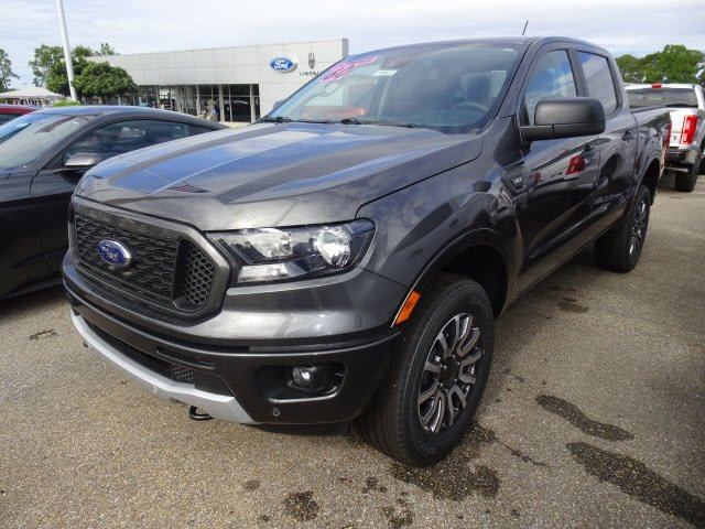 2019 Ford Ranger XLT EcoBoost 2.3L I4 GTDi DOHC Turbocharged VCT Engine RWD Automatic 4 Door