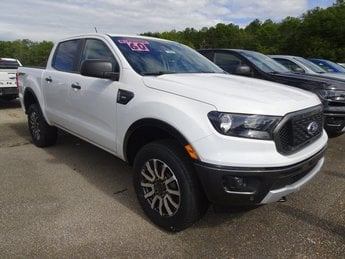 2019 Oxford White Ford Ranger XLT Automatic RWD Truck 4 Door EcoBoost 2.3L I4 GTDi DOHC Turbocharged VCT Engine