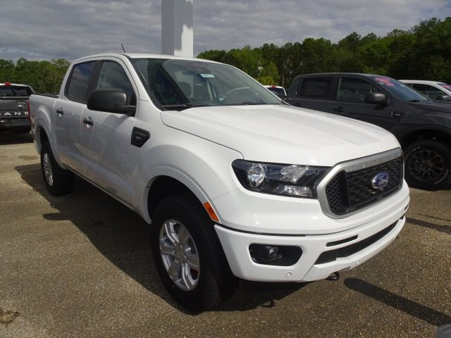 2019 Oxford White Ford Ranger XLT Truck RWD 4 Door EcoBoost 2.3L I4 GTDi DOHC Turbocharged VCT Engine