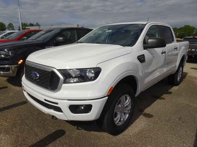 2019 Ford Ranger XLT EcoBoost 2.3L I4 GTDi DOHC Turbocharged VCT Engine 4 Door RWD