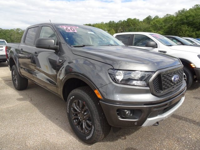2019 Ford Ranger XLT EcoBoost 2.3L I4 GTDi DOHC Turbocharged VCT Engine 4 Door Automatic
