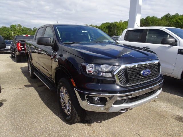 2019 Ford Ranger XLT 4 Door Truck EcoBoost 2.3L I4 GTDi DOHC Turbocharged VCT Engine 4X4 Automatic