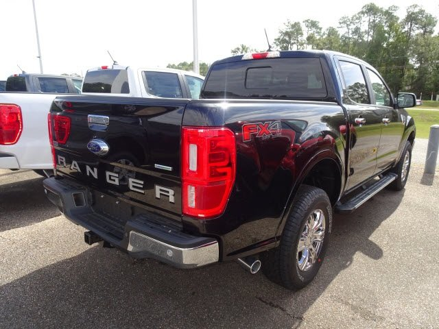 2019 Shadow Black Ford Ranger XLT 4 Door Truck EcoBoost 2.3L I4 GTDi DOHC Turbocharged VCT Engine Automatic