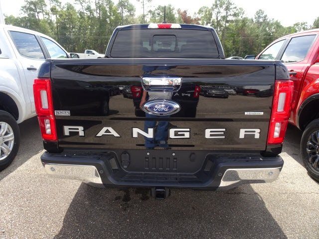 2019 Shadow Black Ford Ranger XLT 4X4 4 Door Truck