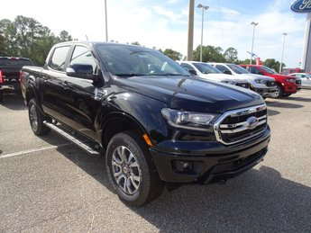 2019 Shadow Black Ford Ranger LARIAT 4 Door 4X4 Automatic EcoBoost 2.3L I4 GTDi DOHC Turbocharged VCT Engine Truck