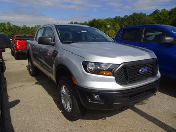 2019 Ingot Silver Ford Ranger XL Automatic Truck 4X4 EcoBoost 2.3L I4 GTDi DOHC Turbocharged VCT Engine 4 Door