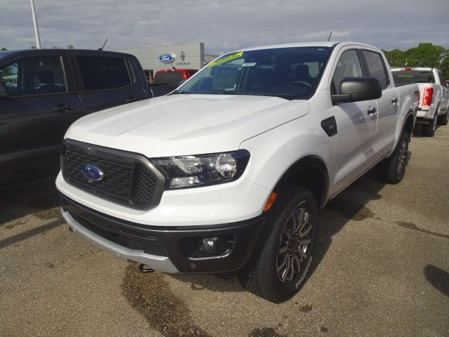 2019 Ford Ranger XLT Automatic 4 Door EcoBoost 2.3L I4 GTDi DOHC Turbocharged VCT Engine