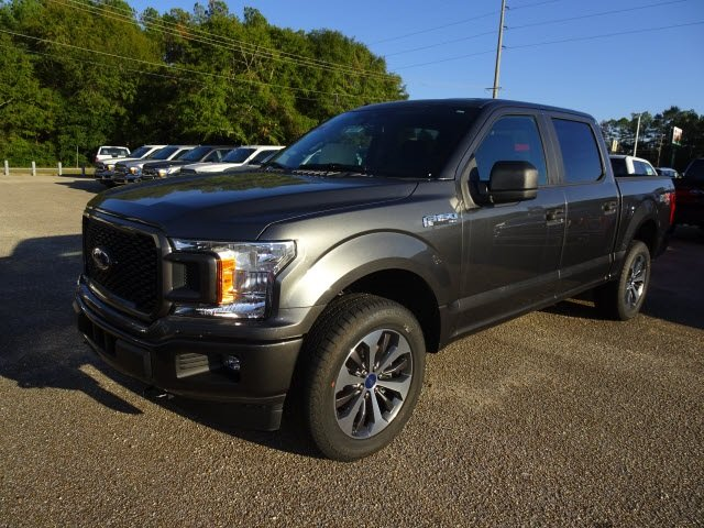 2019 Magnetic Metallic Ford F-150 Lariat Truck Automatic 5.0L V8 Ti-VCT Engine