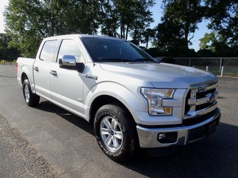 2016 Ingot Silver Metallic Ford F-150 XLT 4 Door RWD Truck EcoBoost 3.5L V6 GTDi DOHC 24V Twin Turbocharged Engine