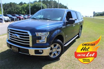 2016 Blue Jeans Metallic Ford F-150 XLT 4 Door Automatic RWD 2.7L V6 EcoBoost Engine