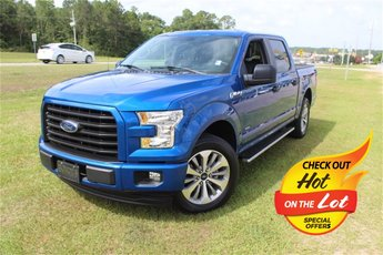 2017 Lightning Blue Ford F-150 XL RWD Automatic 2.7L V6 EcoBoost Engine