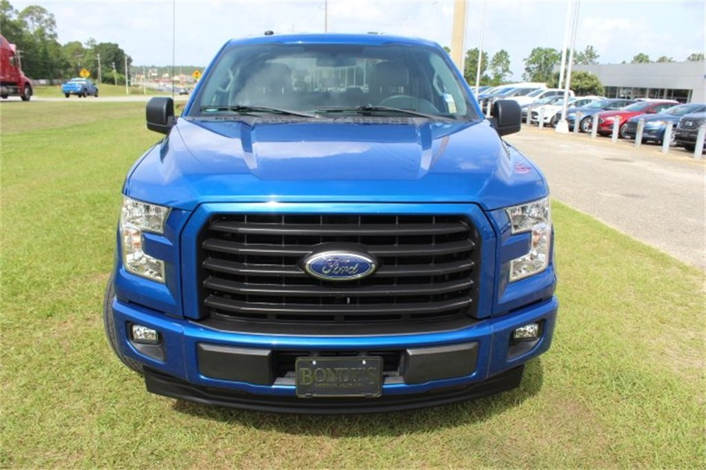 2017 Lightning Blue Ford F-150 XL Automatic 2.7L V6 EcoBoost Engine Truck 4 Door RWD