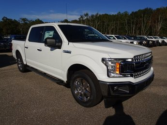 2019 Oxford White Ford F-150 XLT Automatic EcoBoost 2.7L V6 GTDi DOHC 24V Twin Turbocharged Engine RWD Truck